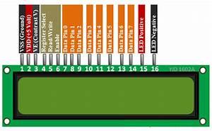 16x2 Lcd Module  Pinout  Diagrams  Description  U0026 Datasheet