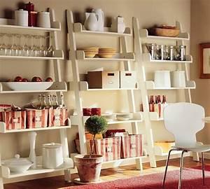 Echelle Etagere Ikea : chelle bois d co 50 id es cr atives pour votre int rieur ~ Teatrodelosmanantiales.com Idées de Décoration