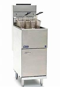 Pitco 40d Propane Gas Fryer