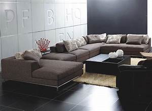 Popular 194 list contemporary sectional sofas for Custom contemporary sectional sofa
