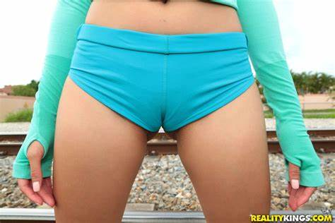 Asian Babe Cameltoe Stretched By Intruder