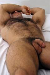 Hairy gay sleeping men