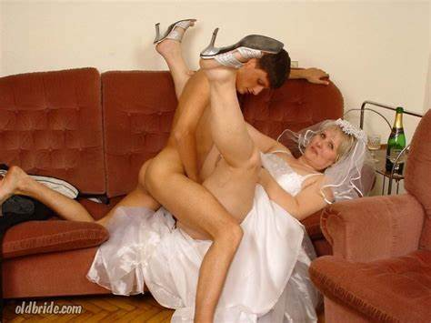Bride And Even Slutty Grannies its time for the honeymoon