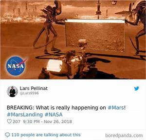 40 Hilarious Reactions To NASA's InSight's First Photos ...