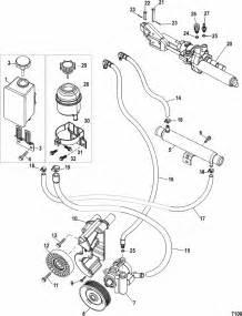 Power Steering For Mercruiser  496 Mag Sterndrive  Engine
