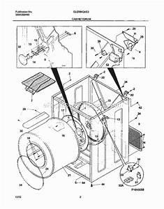 Frigidaire Gler642as3 Parts List And Diagram