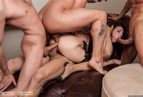 Anysex Double Asshole Swinger Foursome Penetration