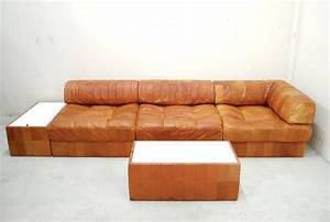 Ledersofa Cognac Vintage : de sede ds 88 sofa daybed vintage cognac patchwork ledersofa 2 sidecases ebay ~ Frokenaadalensverden.com Haus und Dekorationen