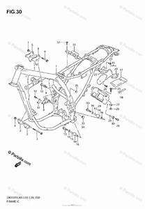Suzuki Motorcycle 2008 Oem Parts Diagram For Frame