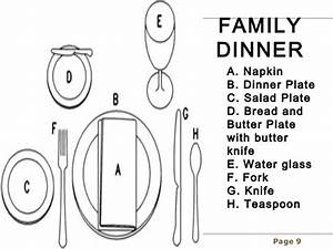 French Table Setting Etiquette  U0026 Medium Size Of Fine