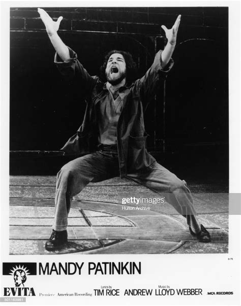 Check spelling or type a new query. Mandy Patinkin performs on stage during the stage play Evita in 1979. News Photo - Getty Images