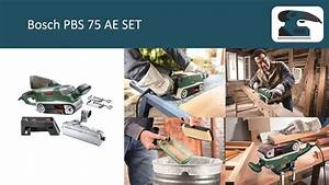 Bosch Pbs 75 Ae : bosch pbs 75 ae set youtube ~ Watch28wear.com Haus und Dekorationen