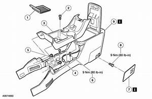 Service Manual  How To Remove Lower Console 2004 Ford