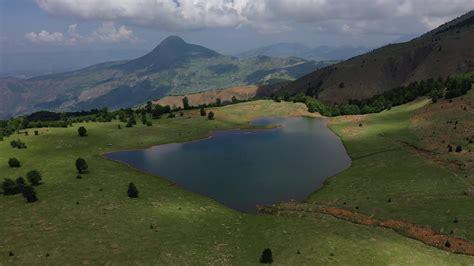 Liqeni Zi. Lenie. Gramsh. Albania - YouTube
