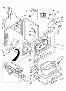 Crosley Cgds563mq0 Dryer Parts