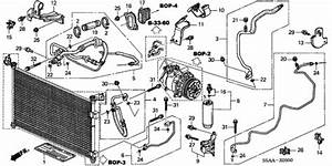 2004 Honda Civic Exhaust System Diagram
