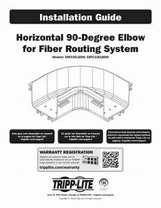Tripp Lite Fiber Routing System Installation Guide