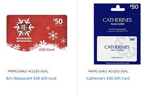 Bj's restaurant gift cards, email egifts and more info. Expired Amazon: Discounted BJ's Restaurant & Catherine's Giftcards - Doctor Of Credit