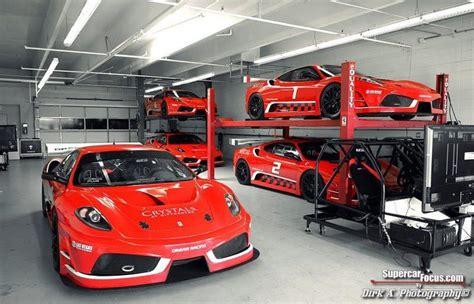Ferrari garage garage workshop cave style ferrari car. The Secret Garage Filled With Exquisite Ferrari 430 Scuderia GT3 Racecars | Autos ferrari