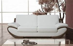 canape design cuir 3 places pas cher linati With canape cuir italien pas cher
