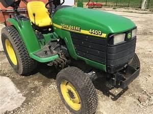 John Deere 4400 Compact Utility Tractor Service Manual