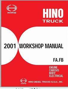 Hino Truck All Series Fa  Fb 239e 12 Workshop Manuals 2001