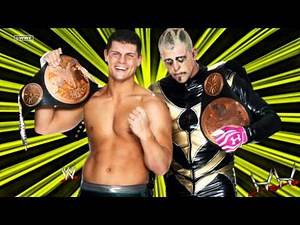 "2013: Cody Rhodes & Goldust 1st WWE Theme Song - ""Gold & Smoke"" (HQ DL)"