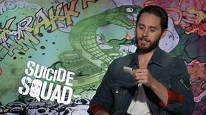 SUICIDE SQUAD interviews - Jared Leto, Margot Robbie, Smith, Delevingne, Kinnaman, Courtney, Ayer