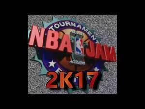 NBA Jam 2k17 - OFFICIAL LAUNCH TRAILER - NBA Jam SNES Rom Hack / Roster Update
