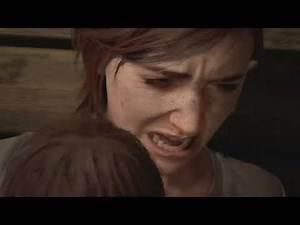 Ellie's PTSD - Ellie & Dina Cut Scene (The Last Of Us 2 Gameplay)