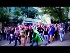 Antifa Boys Getting Knocked the Fu## OUT!!!